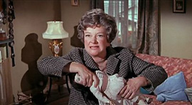 "June Buckridge (Beryl Reid) without her ""Sister George"" costume in The Killing of Sister George"