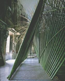 "Plant installation, ""Bambu"" by Teshigahara"
