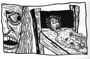 The Deadman - drawing
