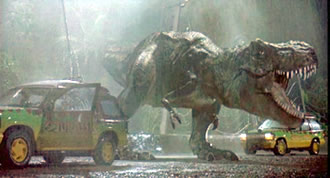 A stunning sequence in search of a script in Jurassic Park