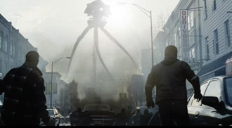 Grim science fiction in War of the Worlds