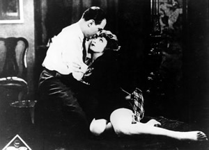 Willi Forst and Marlene Dietrich in Café Elektric