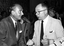 Willi Forst and Billy Wilder
