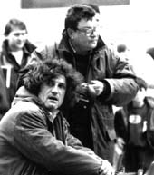 Garrel on the set of La Naissance de l'amour