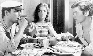 Alain Delon as Tom Ripley in Plein Soleil