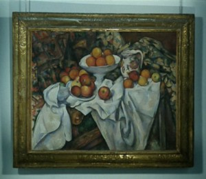 "Cézanne, ""Apples and Oranges"", c. 1899 Musée d'Orsay."