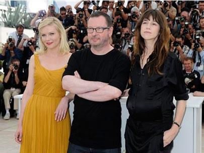 Lars von Trier at Cannes
