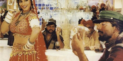 "Madhuri Dixit in Choli ke peeche hai? (""What's beneath the blouse?"") song and dance number from Subhash Ghai's Khalnayak (1993)"