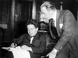 Carl Mayer and F.W. Murnau