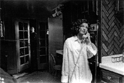 Halloween: Annie trapped between the telephone and the Other