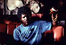 Samuel L. Jackson in Pulp Fiction