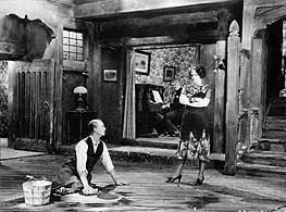Carmel Myers enjoys humiliating H.B. Warner in Sorrel and Son
