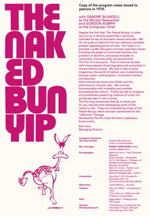 The Naked Bunyip