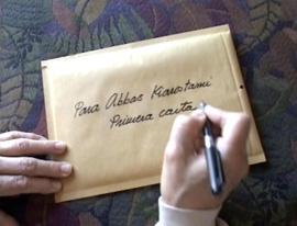 Carta from Victor Erice to Abbas Kiarostami. Courtesy of the CCCB, Barcelona.