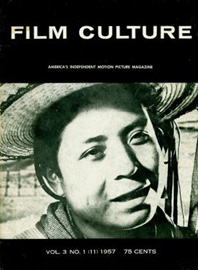 Cover of a 1957 issue of Film Culture