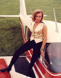 Pussy Galore (Honor Blackman) in Goldfinger