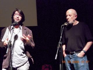 Antoine de Baecque and Luc Moullet