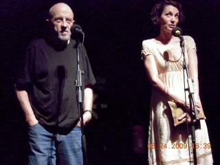 Luc Moullet and Jeanne Balibar