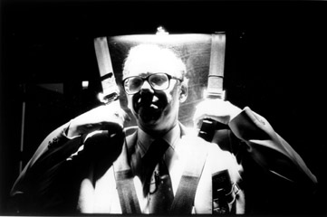 Fred Leuchter in the Chair