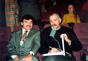 Hugo Gamarra and Nikita Mikalkov