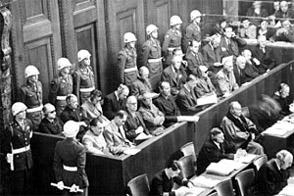 Defendants at Nuremberg
