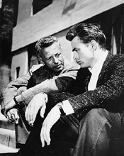 Nick with James Dean, directing without being seen as directing.