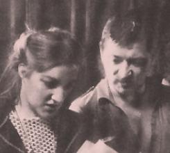 Juliane Lorenz and R.W. Fassbinder
