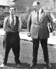 "Buster and ""Fatty"" Arbuckle"