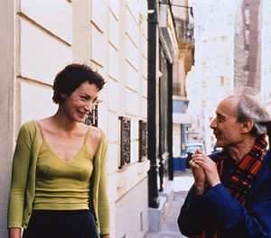 Jeanne Balibar and Jacques Rivette