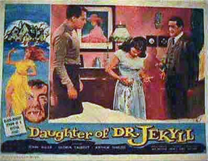 Poster for Daughter of Dr. Jekyll