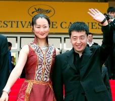 Zhao Tao and Jia Zhang-ke