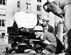 Ozu filming The Flavour Of Green Tea Over Rice