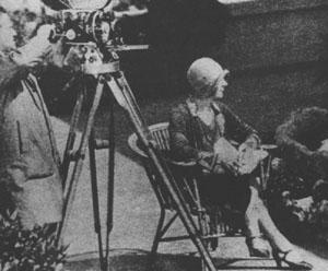 Paulette McDonagh directing, c.1929